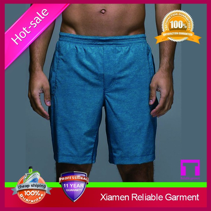 2016 Wholesale top quality OEM custom print athletic gym shorts for men from China Gold Suppliers