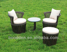 American garden rattan outdoor table and chair patio furniture BSD-650025