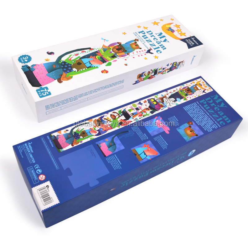 MIDEER kids puzzle my first puzzle earlier-educational super long jigsaw puzzle with a measure tape  can record the kids height.jpg