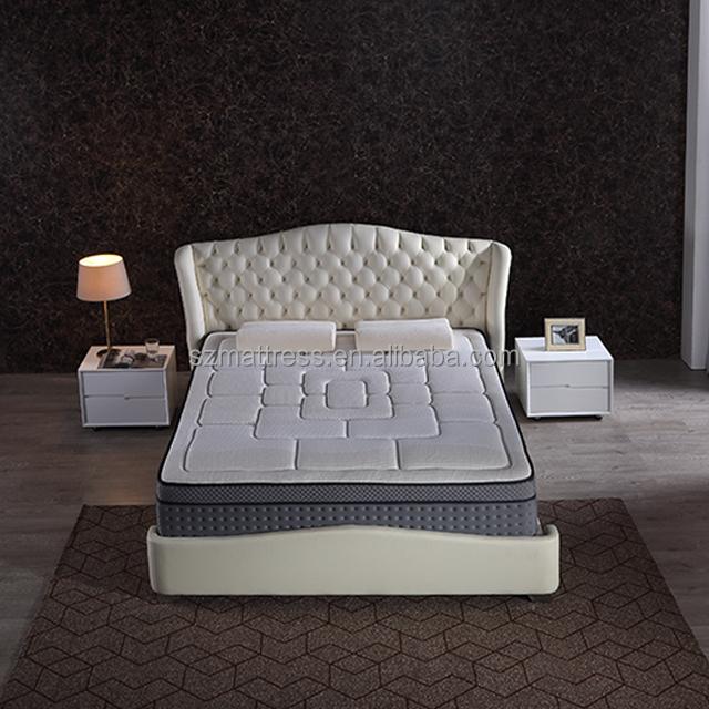 Organic pillowtop sprung mattress with natural comfortable latex foam queen - Jozy Mattress | Jozy.net
