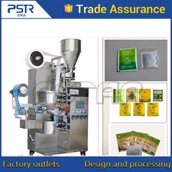 Free wearing parts small tea bag packing machine