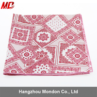 Wholesale Fashion 100% Polyester Smooth 50*50 cm Women's Square Scarf and Neckerchief