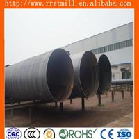 9.1mm thickness spiral steel boning api saw welding pipe