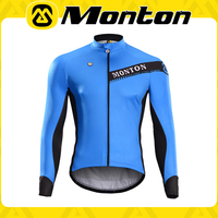 Custom design full zip Monton bicycle jacket full sublimated printing cycling jersey