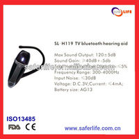 2013 china factory priceTV bluetooth analog hearing aid model SL-H119