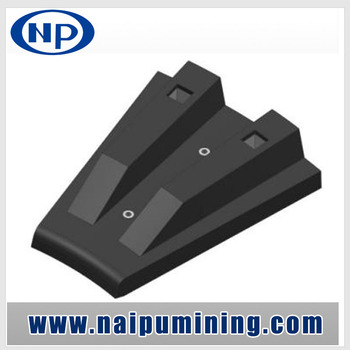 Naipu Mining Grinding Mill Head Liners Wear Resistant Rubber Liners for Ball Mill / SAG Mills / AG Mills