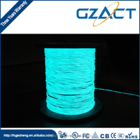 Electroluminescent wire fine 0.9mm el wire roll
