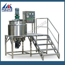 500 liters stainless steel shampoo mixing tank
