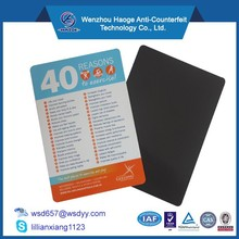 Full color Custom Printed advertising paper magnet schedule