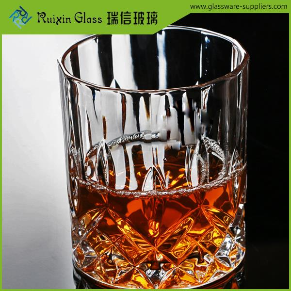 Elegant heat resistant drinking glasses,crystal glassware,300ml whiskey glasses for wedding