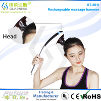 Body Blood Circulation Vibration Massager Hammer High Quality Low Price Electric Neck Massager/ Infrared Neck Massager/ Shiatsu