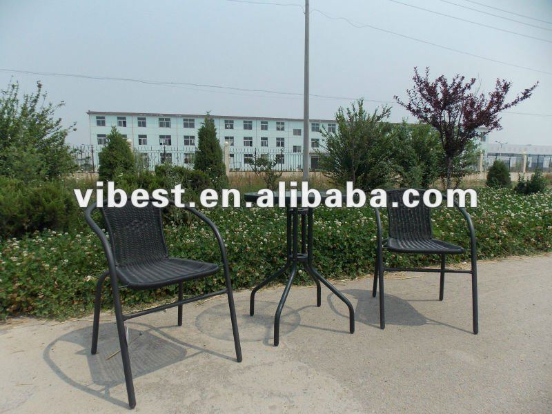 cheapest steel table and chair hot sale