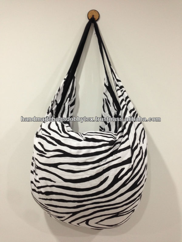 Thailand Cotton Hippie Boho Zebra bag