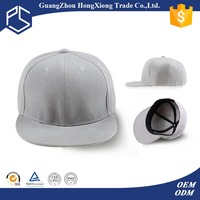 Popular cheap plain strap back masonic snapback cap/ hats with hair attached and gatsby hats for men