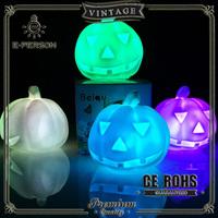 Halloween Pumpkin Lantern table Light Halloween Props Pumpkin, Halloween Decoration Hard Plastic Lamp Pumpkin