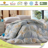 cotton duvet in print polyfiber filled comforter wholesale factory