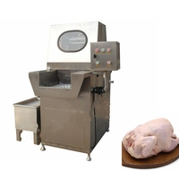 Automatic chicken meat saline injection machine for sale
