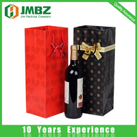 Surface Handling wine bottle paper bag