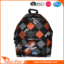 2016 fashion sport style durable lightweight school book bag for teen