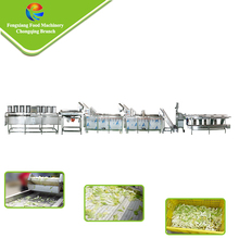 Full Automatic Commercial Cabbage Processing Washing Cutting drying Machine
