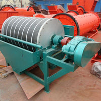 Permanent magnetic dry and wet Magnetic Separator price for iron ore