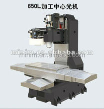 CNC vertical machining center frame for metal processing
