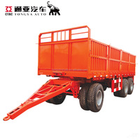 3 Axle Drawing Bar Cargo Transport