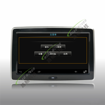 Hot sell 10.1 inch HD digital screen android 4.4 car rear seat entertainment system for Cayenne car