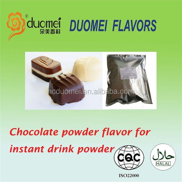 true and full Chocolate powder food flavouring for instant powder drink,fruit flavor powder
