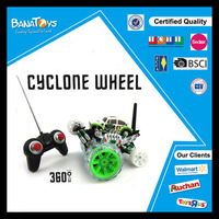 China Hot item plastic 360 stunt kid rc car toy