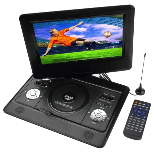 Wholesale 10 inch TFT LCD Screen Digital Multimedia Portable DVD with Card Reader & USB Port, Support TV etc.