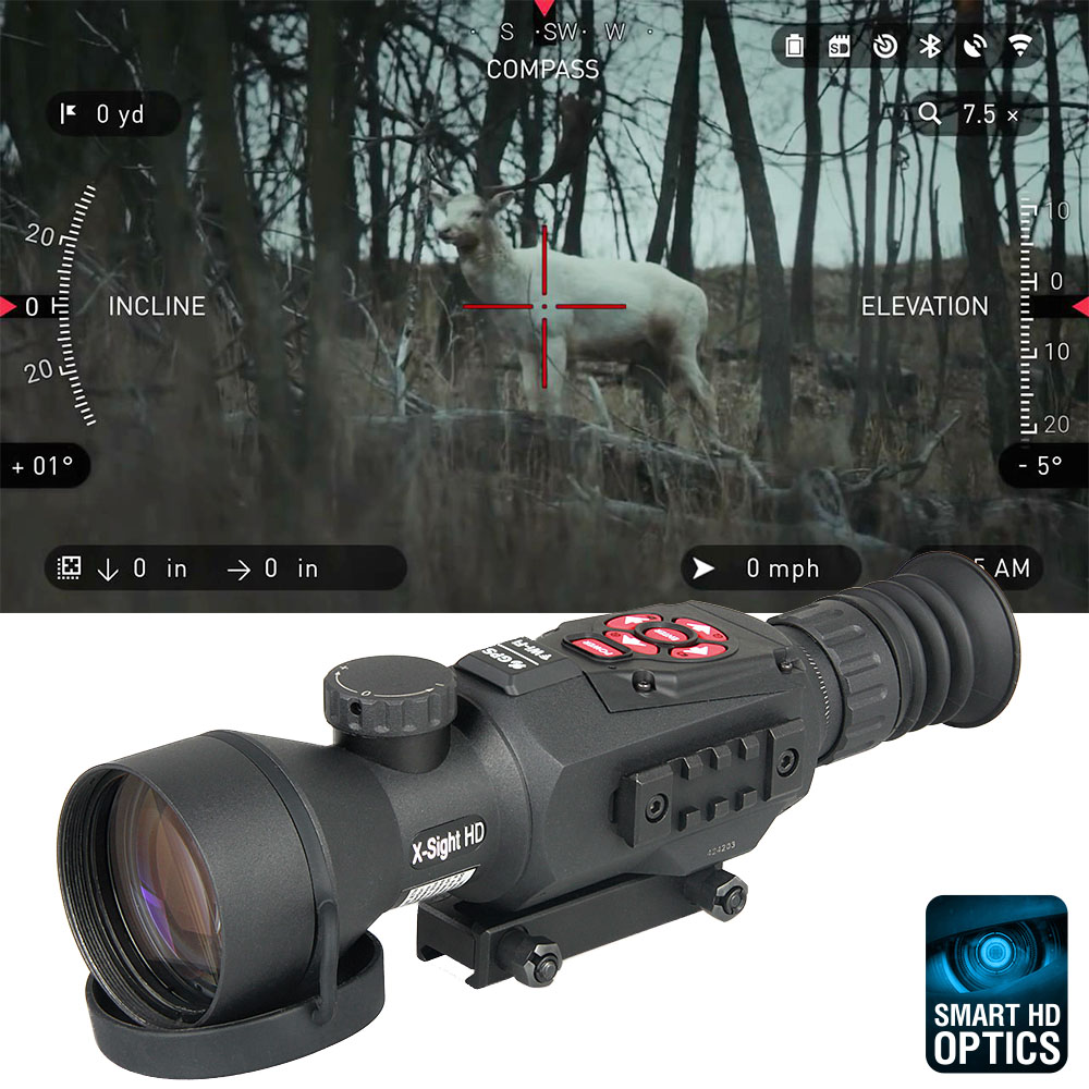 27-0022 Military Army Sniper Airsoft Rifle Gun Shooting Hunting Optical X-SIGHT II HD 5-20X Day & Night Vision Rifle Scope