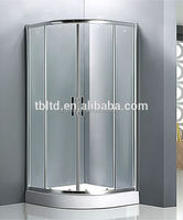 New arrival special stainless steel Modern simple shower screens high quality shower room