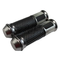 HB-015 22mm 7/8'' China Wholesale Universal Cheap Rubber Gray Motocross Street Motorcycle Grip