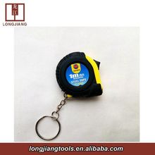 Promotional series 1m length 6mm width tape measuring one stop with colorful cases steel tape measure 1 meter