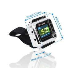 smart 650nm health care low level laser watch to treat hypertension