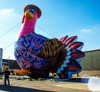 Outdoor Giant Vivid inflatable turkey for Advertising