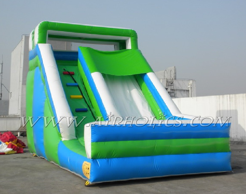 Inflatable water park games, inflatable floating water slide, inflatable water park slide W3071