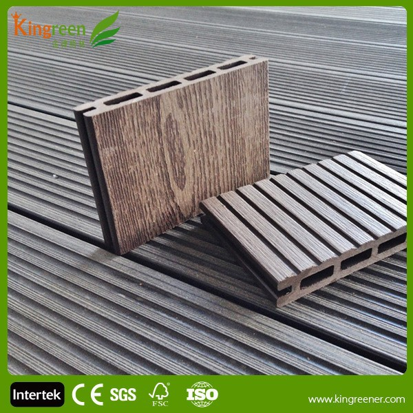 Cheap composite decking material wpc manufacture exterior for Best composite decking material