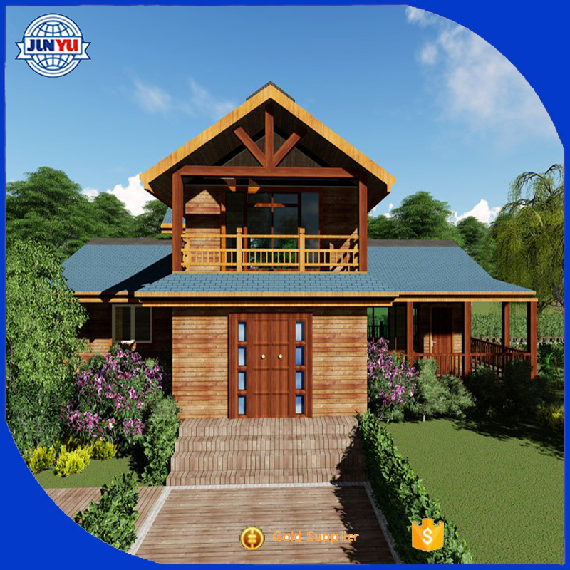cheap China wooden house / log cabins house sale