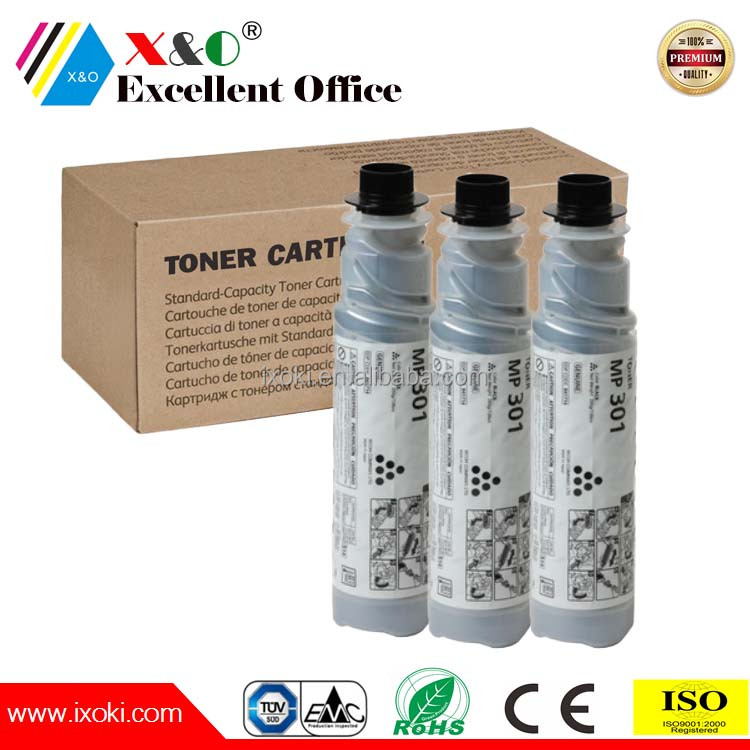 compatible ricoh mp 301 toner cartridge, ricoh 301 toner, toner for Aficio MP 301SP/301SPF