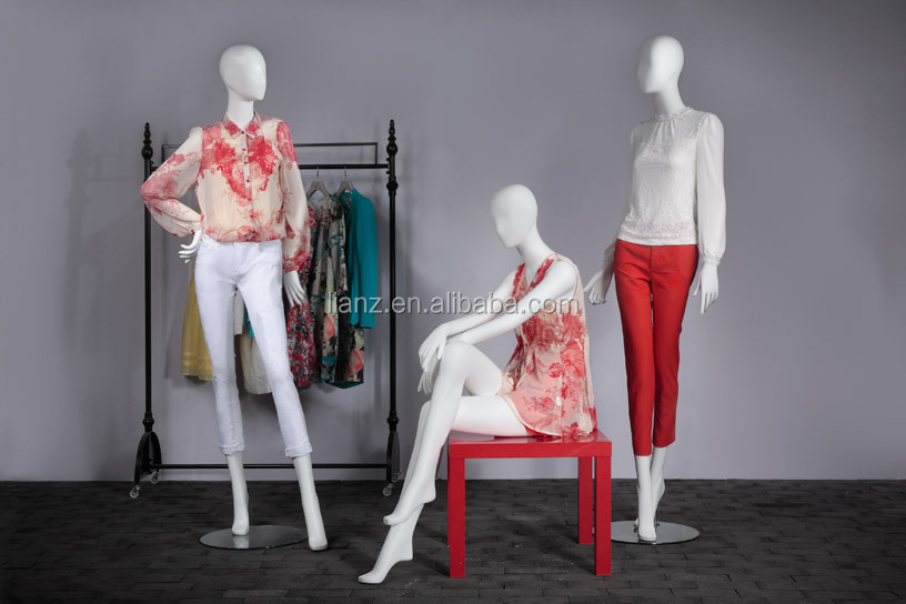 window display mannequin for fashion female apparel