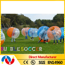 New Product Soccer Bubble / Inflatable Bumper Ball For Adult/ Bubble Football