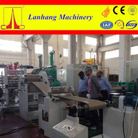 Three roll PVC sheet making machine