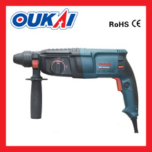 3 Function 800W 26MM Electric Rotary Hammer Drill for drilling/chiseling/hammer(MB-26SRE)