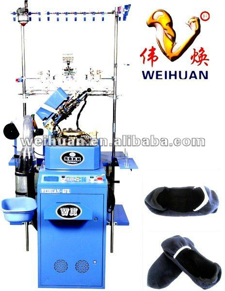 WH-6F-A5 high speed computerized knitting machine for making boat socks(3.5 inch)