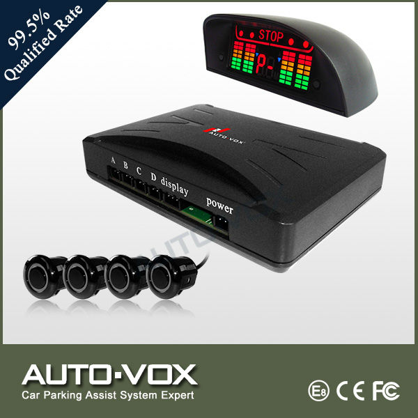 Car voice LED display car parking aids