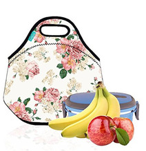 2017 multi color Insulated Neoprene Lunch Bag for Teen Girls