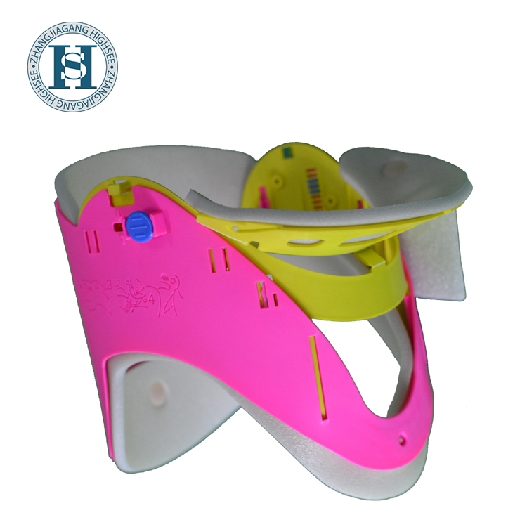 rehabilitation therapy medical neck support brace universal cervical collar