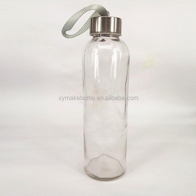 custom made empty glass water bottles sports drinking bottles automotive glass bottles